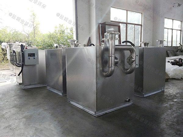 家庭大型地埋式半自动隔油污水提升一体化设备设计计算