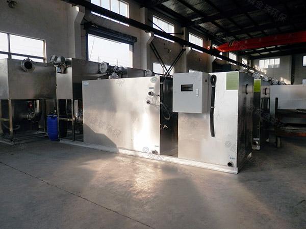 2.8米*1.2米*1.75米饭店用自动除渣隔油提升设备厂商