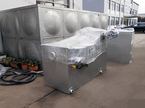30立方厨房智能成品隔油池图集