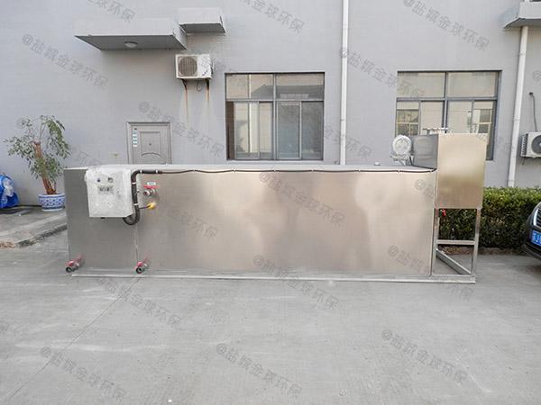 自制火锅专用大型压缩空气一体式隔油提升设备