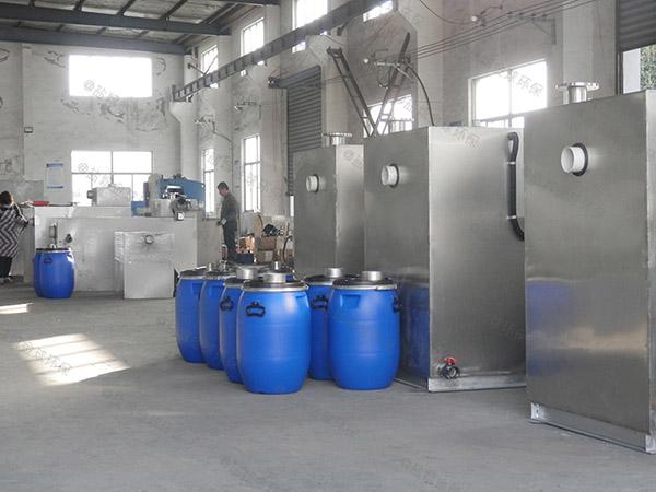 购买火锅店新款压缩空气油水分离隔油池