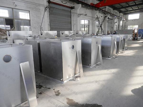 1000人饭店自动水油分离供应