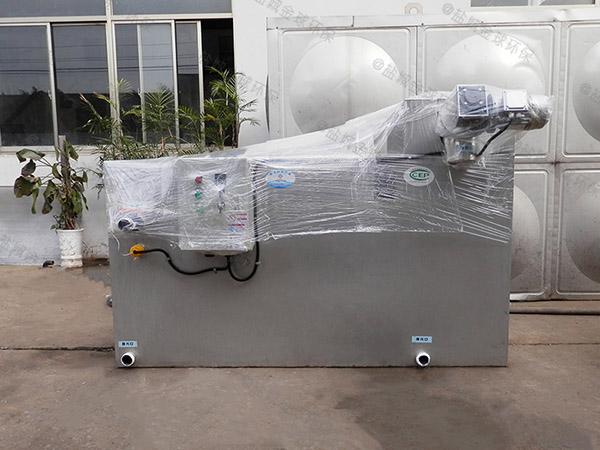 甲型厨房智能型油水分离机供应商