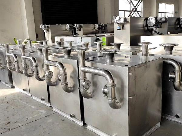 食堂用地上式半自动污水处理设备说明书