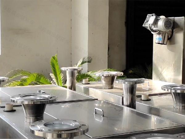 小饭店地面式全自动智能型化油池技术参数