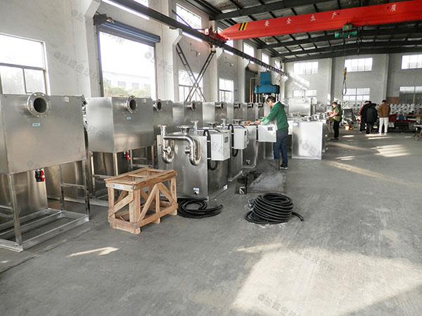 制作商场餐饮大型泔脚气浮式隔油设备