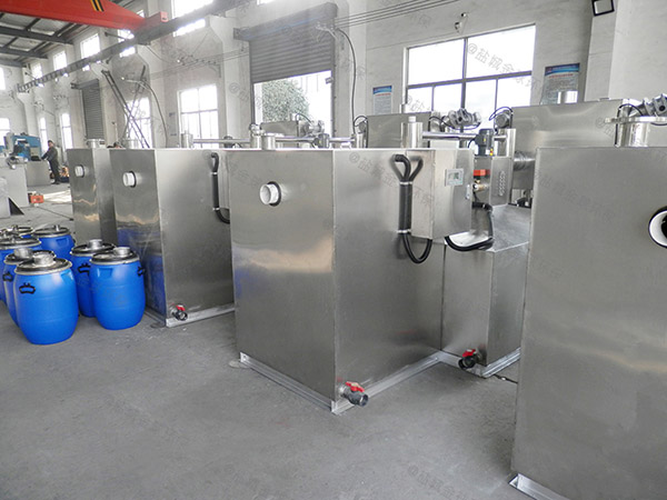 专业做火锅专用中小型泔水一体化隔油池处理设备