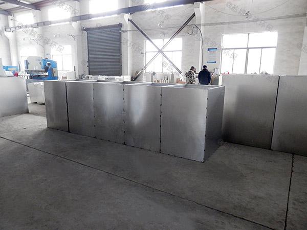 3.5米*1.35米*1.85米餐饮智能化油水分离器技术