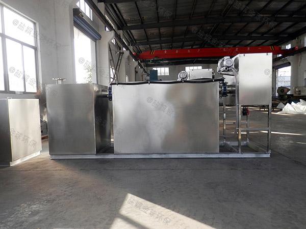 自制家庭新斜板垃圾处理器油水分离
