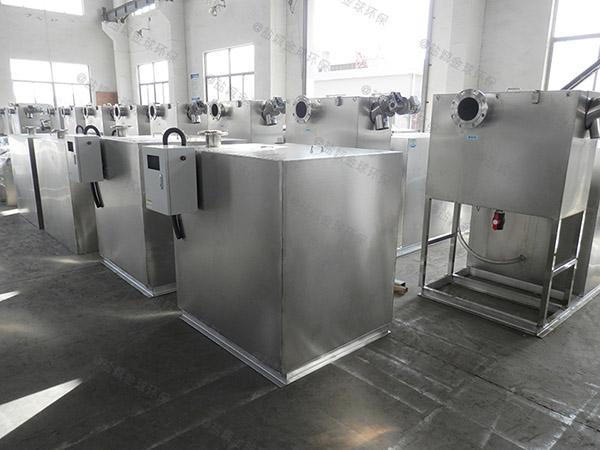 怎么找火锅1000人密闭式油水分离器提升设备