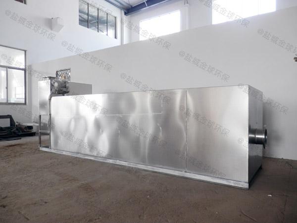 商用地上式全能型餐厨垃圾处理一体机升级