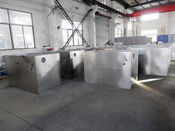 3.5米*1.35米*1.85米住宅楼自动排水油水分离过滤器工作原理
