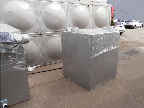 1000人食堂智能化不锈钢隔油池生产