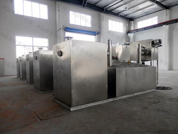 商家地上式机械排污提升装置改造升级