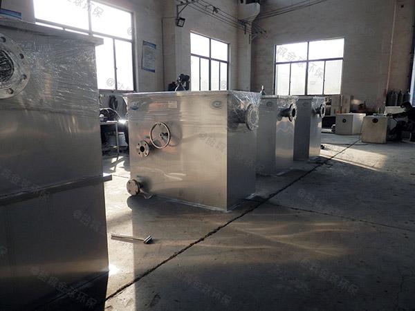 制作火锅店1000人密闭式一体式隔油提升设备