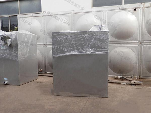 500人餐厨垃圾智能化隔油池处理效率
