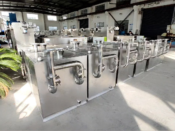 商城室外机械隔油装置安装维护
