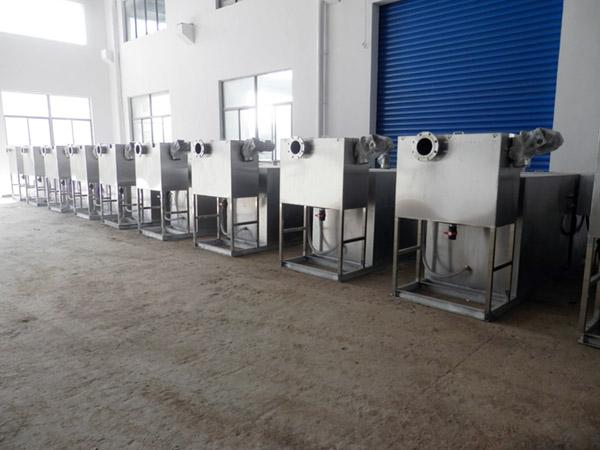 小饭店地上式移动一体化隔油提升设备供货厂商
