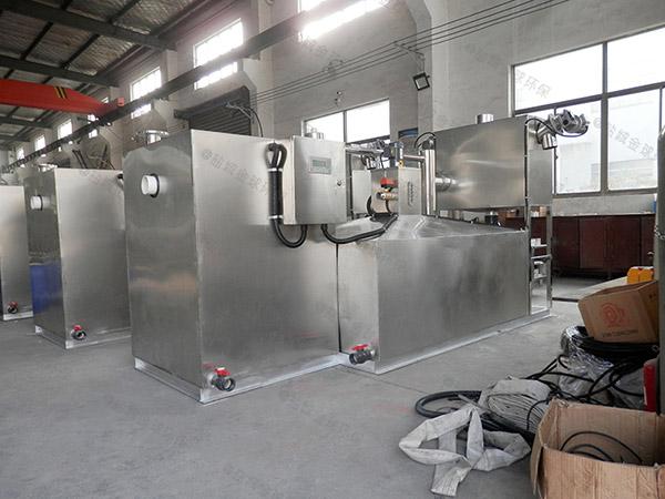 100人食堂自动排水油水分离过滤器型号