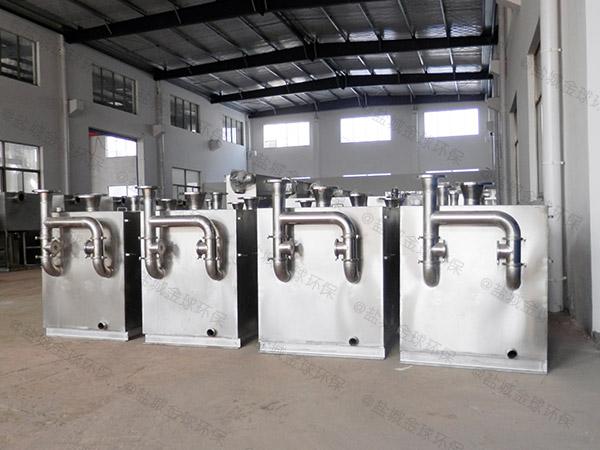 商用室外全自动智能型隔油污水提升设备改造厂家