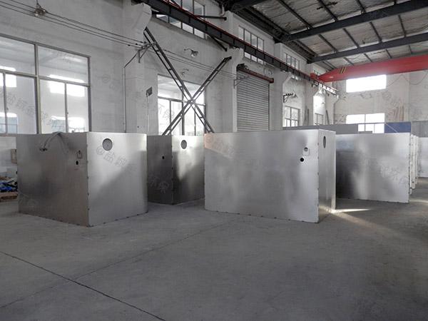 3.5米*1.35米*1.85米餐厨自动化油水分离处理设备报价