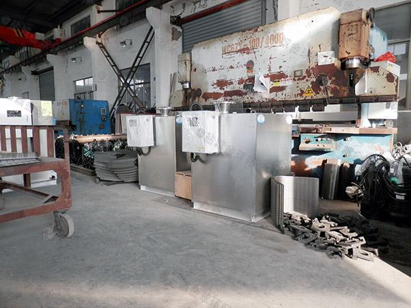 3.5米*1.35米*1.85米住宅楼自动化油水分离处理设备是干嘛用的